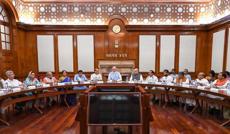 [File] Union cabinet, led by Prime Minister Narendra Modi, met in New Delhi on Wednesday | PTI