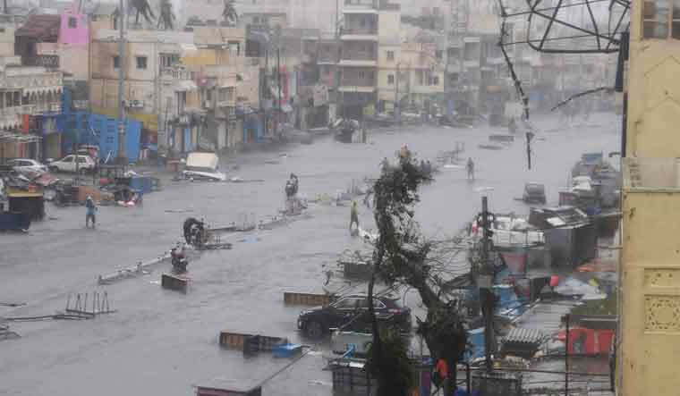 PM Modi announces Rs 1,000 cr for cyclone hit Odisha