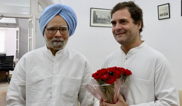 Rahul says Congress to decide successor, reiterates Rafale theft charge
