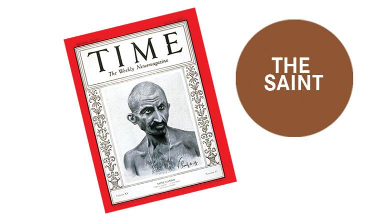 Gandhi-The-Saint-Illustration