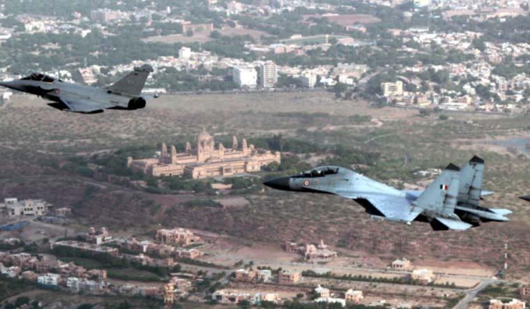 Rafale Su-30MKI Garuda