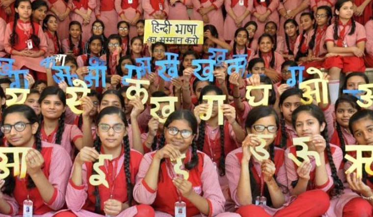 [File] Southern states had opposed the New Education Policy draft, accusing it of imposing Hindi upon the non-Hindi speaking states | PTI