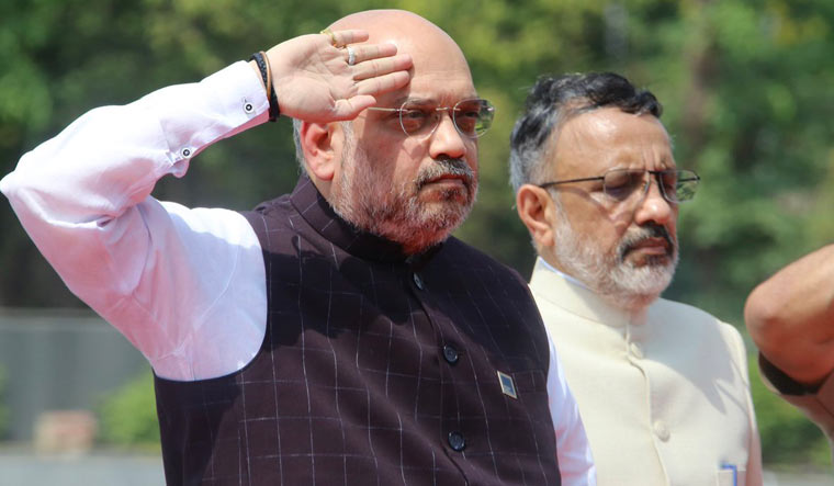 Amit Shah salute Twitter