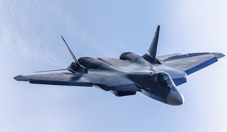 IAF could consider Su-57 stealth jet after it enters Russian