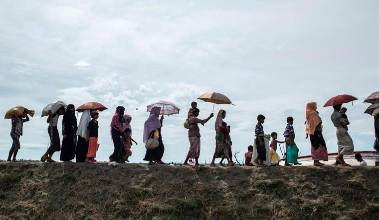 Rohingya Muslims' attempt to enter Tripura from Bangladesh prevented