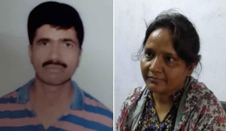 Manish Shrivastava and his wife Varsha alias Anita