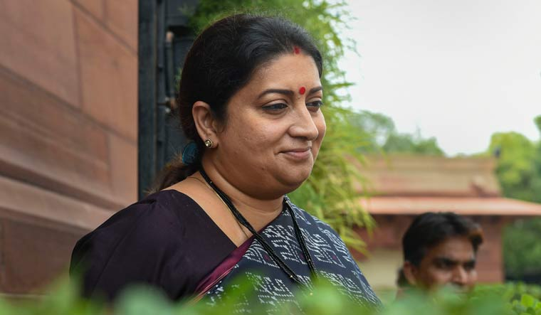 Women and Child Development Minister Smriti Irani said it aims at making offences against children gender neutral | PTI