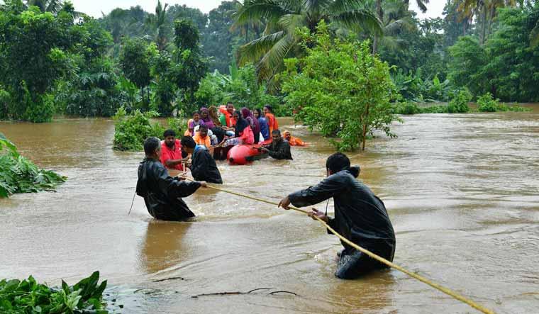 Kerala rains: Over 1 lakh displaced