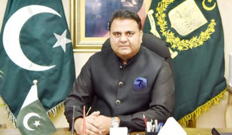 Pakistan's science and technology minister Fawad Chaudhry | Twitter