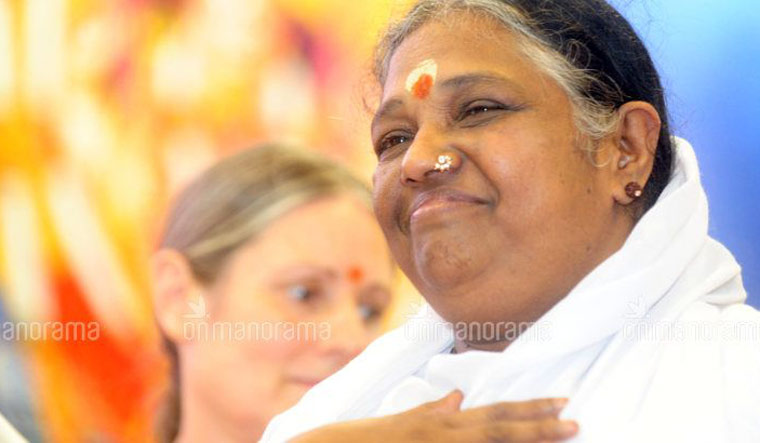 Spiritual leader Mata Amritandamayi