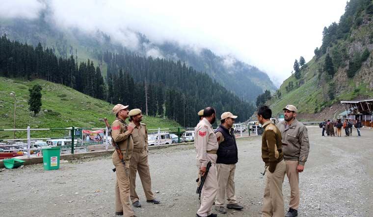 Troops in Kashmir Reuters