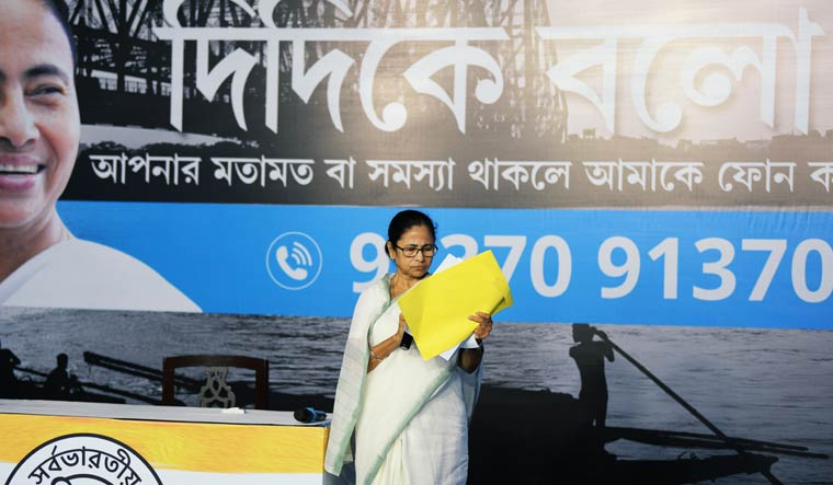 Mamata's 'Didi Ke Bolo' drive has TMC leaders squirming over questions