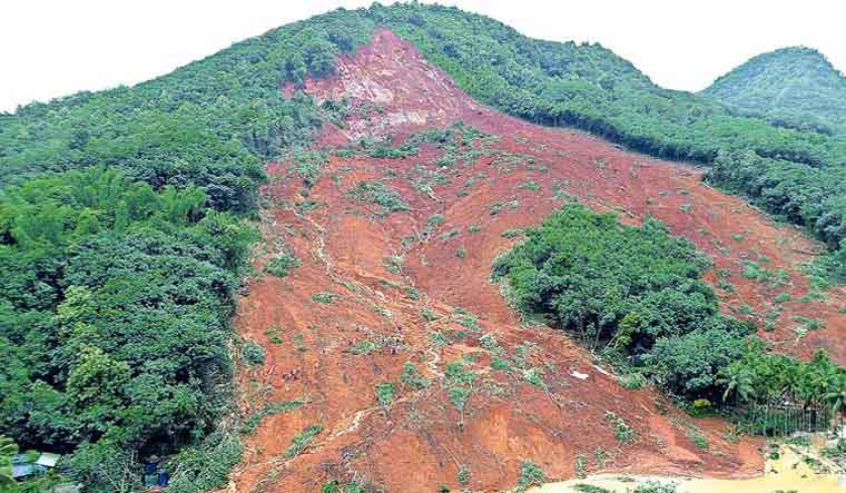 Kavalappara near Nilambur in Malappuram district of Kerala