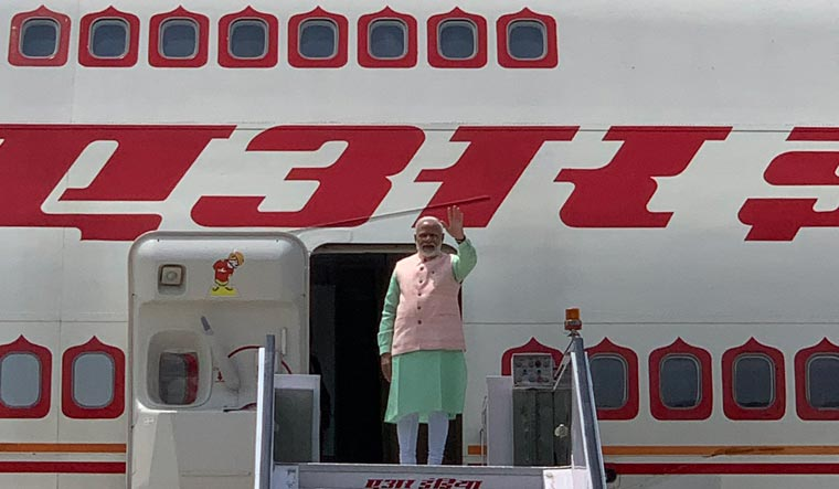 The total invoice raised for the prime minister's travels was Rs 1,321.41 crore. Of this, bills amounting to Rs 862.45 crore were cleared by the government, leaving Rs 458.959 crore as the outstanding amount | Twitter