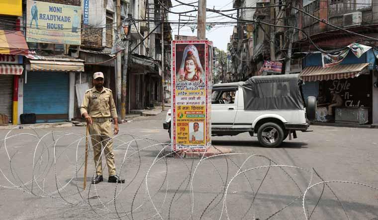 Security in Jammu reuters