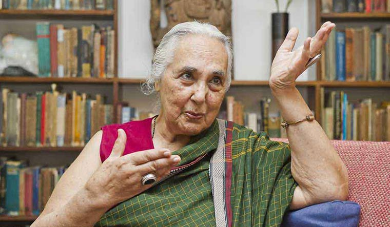 Eminent historian Romila Thapar | Sanjay Ahlawat