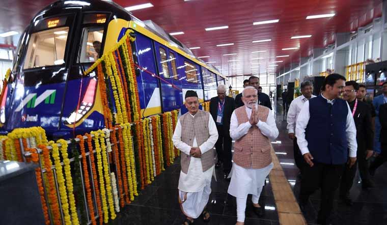 Modi metro pib india