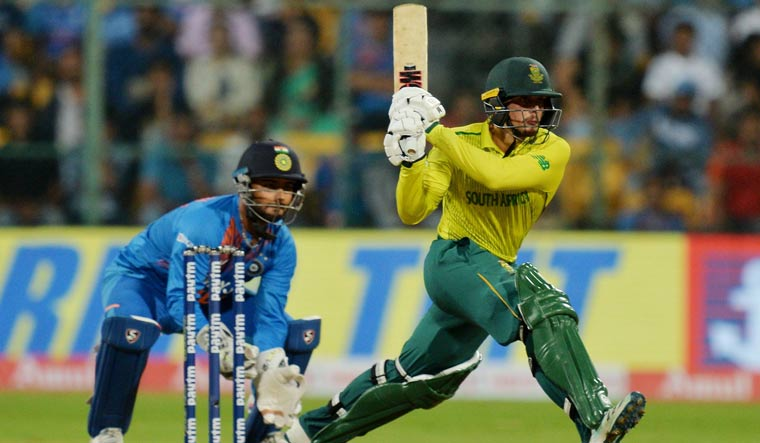 IndVsSA: De Kock hits unbeaten 79 as South Africa beat India by 9 wickets