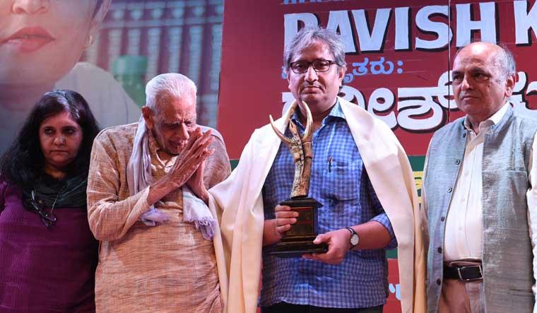 Ravish-Kumar-award-Gauri-Lankesh-Bhanu-1