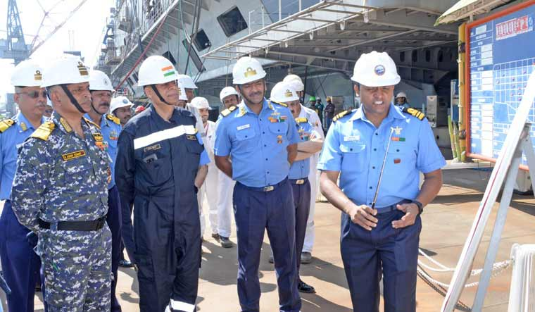 EAC reviews construction of indigenous aircraft carrier