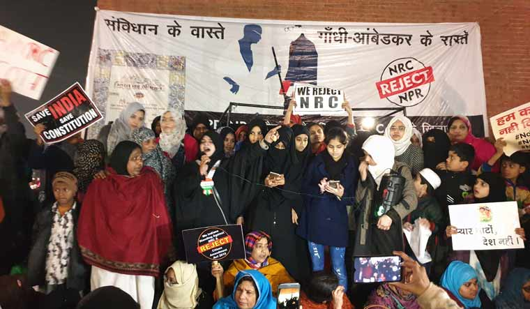 Women protesters at Lucknow anti-CAA protests charged with rioting