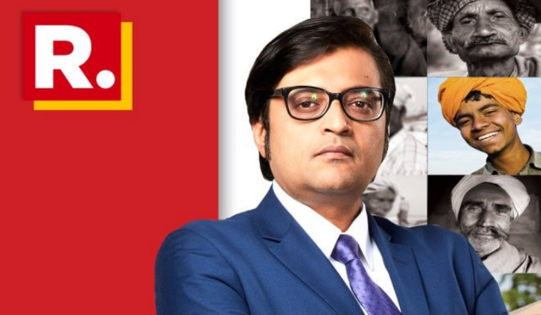 republic tv banner arnab