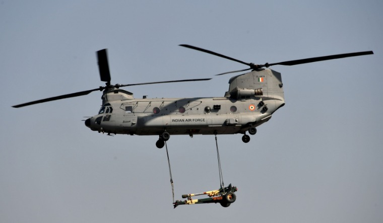 chinook helicopter iaf day