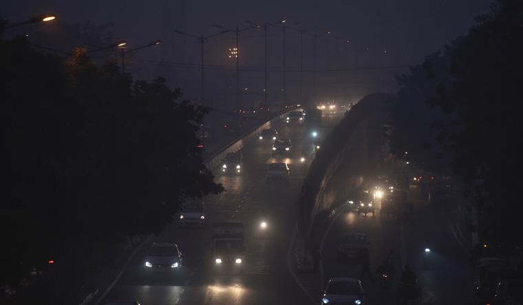 delhi pollution rep pti