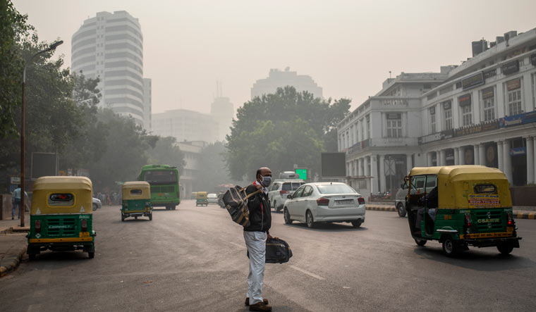 APTOPIX India Air Pollution
