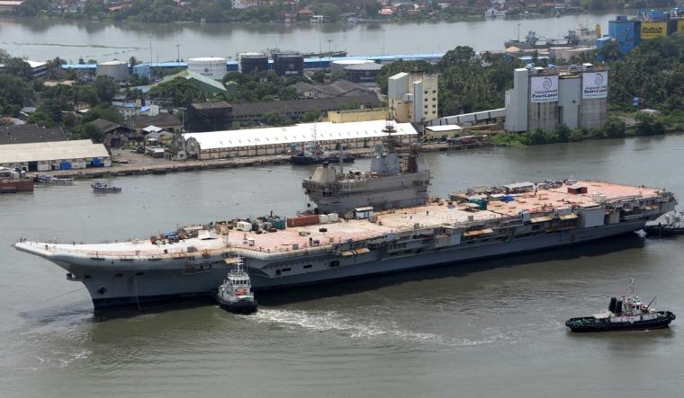 aircraft carrier basin trials