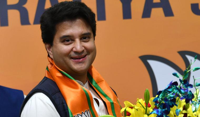 Jyotiraditya Scindia joining BJP
