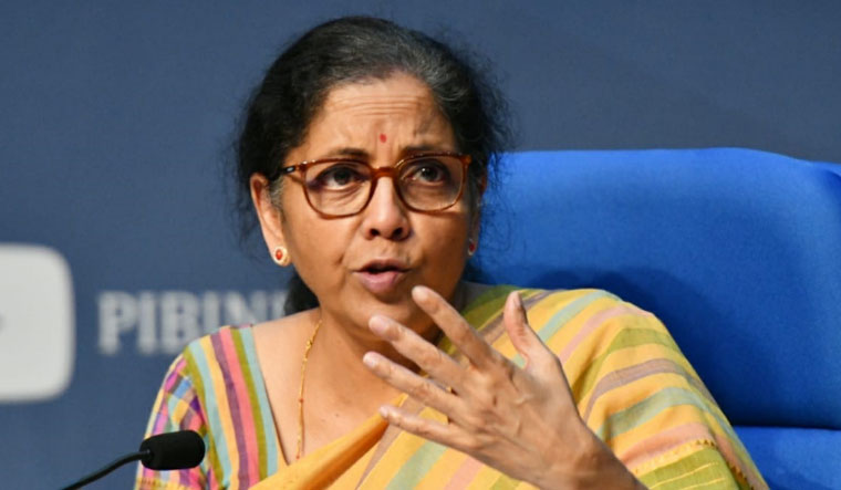 Finance Minister Nirmala Sitharaman | Sanjay Ahlawat