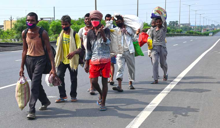 Chhattisgarh has most number of stranded migrant workers as per CLC data