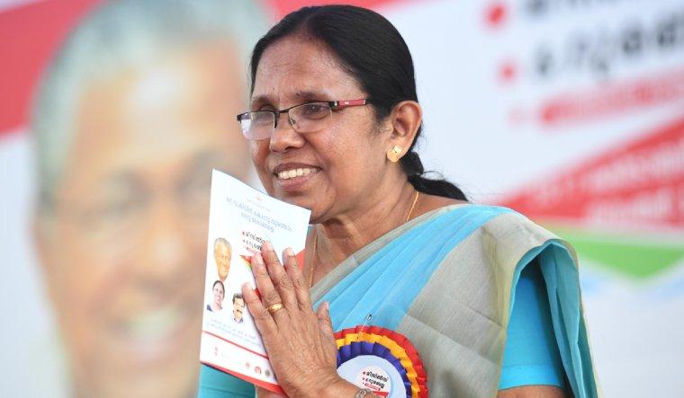 shailaja-teacher-kerala-health-minister