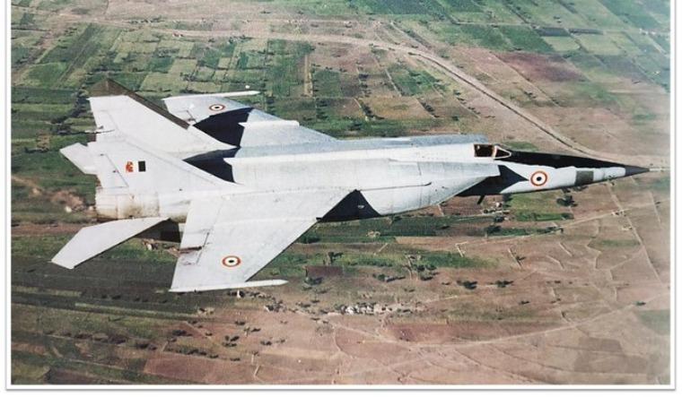 The MiG-25 IAF