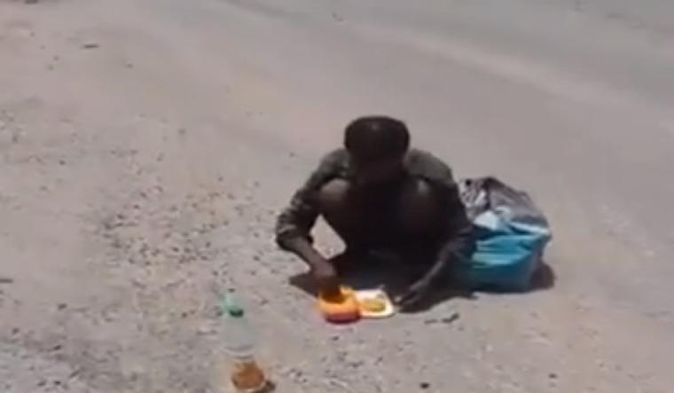 shahpura starving man