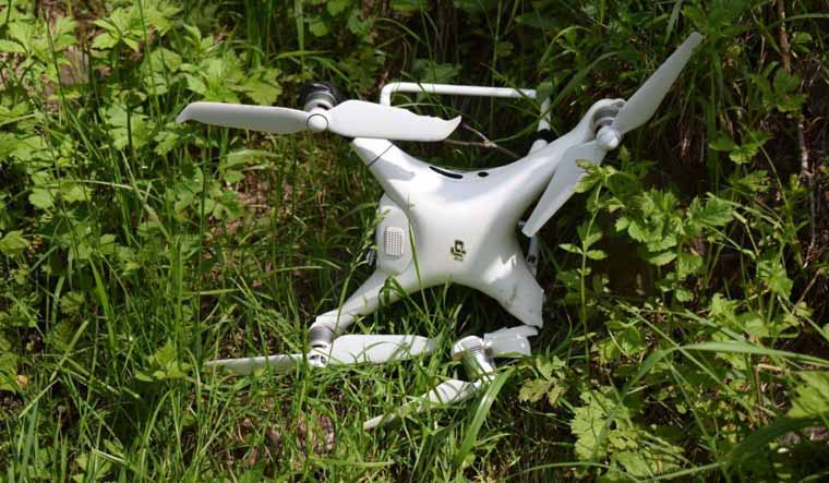 downed-quadcopter-drone-DJI-Pakistan-DGISPR-Twitter
