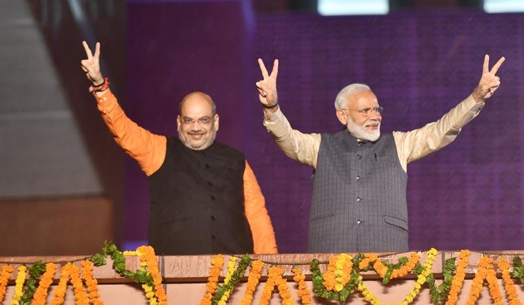 Modi shah 2019 may election sanjay ahlawat