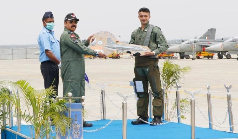Bhadauria IAF Tejas