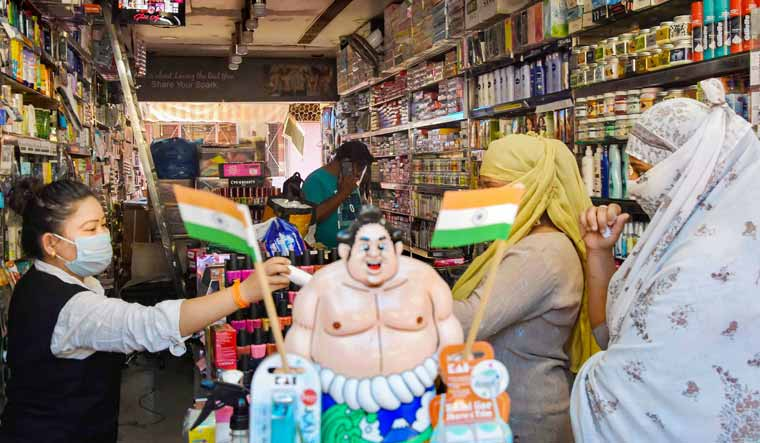 Bhopal-shop-reopening-grocery-PTI