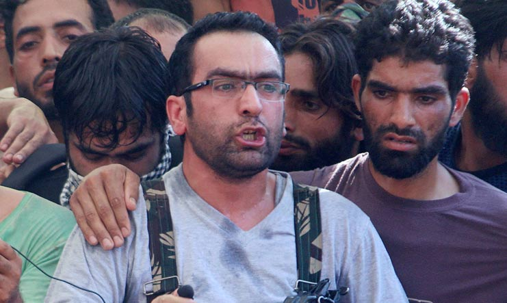 [File] Commander-in-Chief of Hizbul Mujahideen Riyaz Naikoo who was killed in an encounter with security forces on May 6 | PTI