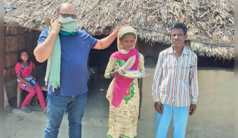 Maksood Ali, Jai Devi and her husband Kanta Prasad