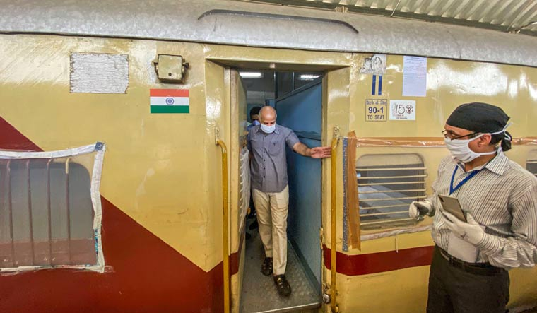 'COVID-19 transmission rate in train carriage decoded'