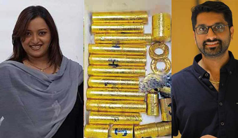 Swapna Suresh and Sarith Kumar, the key accused in the Kerala gold smuggling case | Manorama