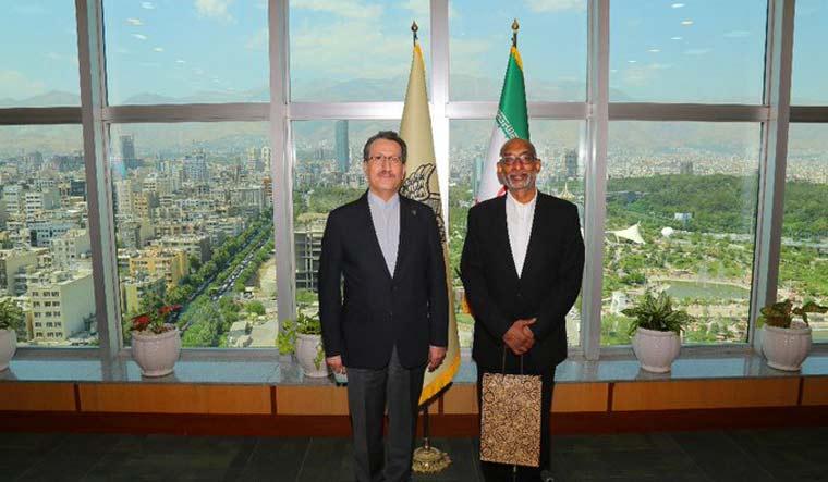 Indian-envoy-Gaddam-Dharmendra-Iran-Saeed-Rasouli-twitter