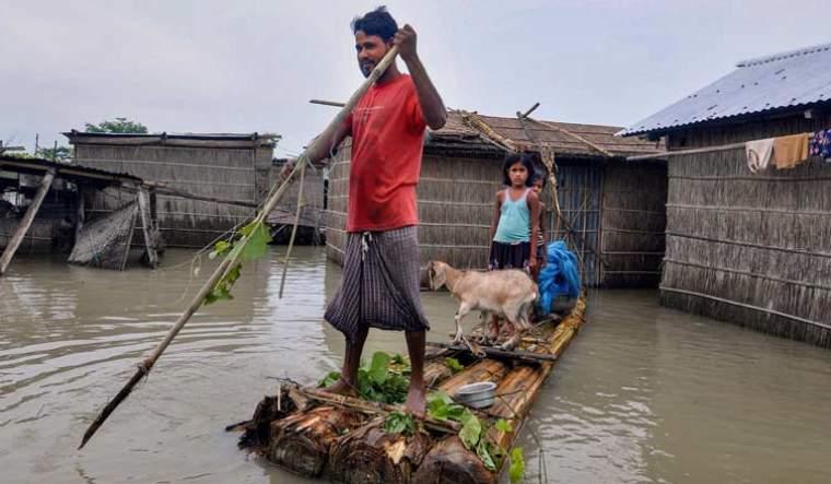 Assam-floods-2020-raft