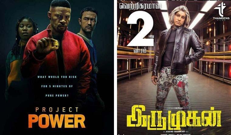 Is 'Project Power' a remake of Vikram's 'Iru Mugan'?