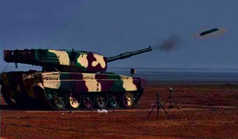 arjun tank missile