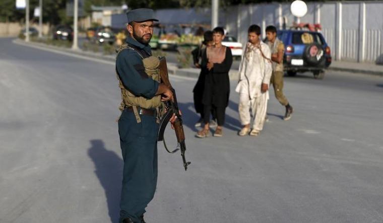 afghan cop reuters