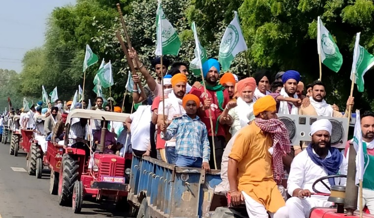 farmers aayush protest punjab haryana